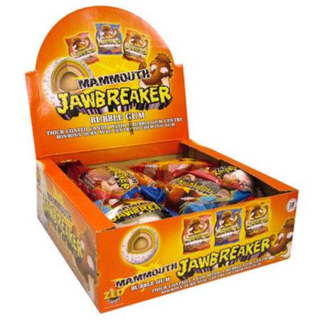 Zed Candy Zed Candy - mammouth jawbreaker 18st - 18 stuks