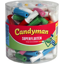 Candyman - Super Fluiten, 100 Stuks