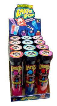 Candy Novelty Network Candy Novelty Network - laser pop - 12 stuks