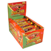 Zed Candy - jawbreaker strawberry 5-pk - 40 stuks