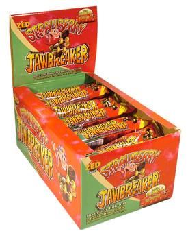 Zed Candy Zed Candy - Jawbreaker Strawberry 5-Pk, 40 Stuks