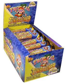 Zed Candy Zed Candy - Jawbreaker Tropical 5-Pk, 40 Stuks