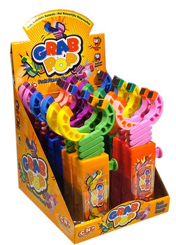 Candy Novelty Network Candy Novelty Network - Grab Pop, 12 Stuks
