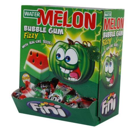Fini Fini - Watermeloen Kauwgom, 200 Stuks