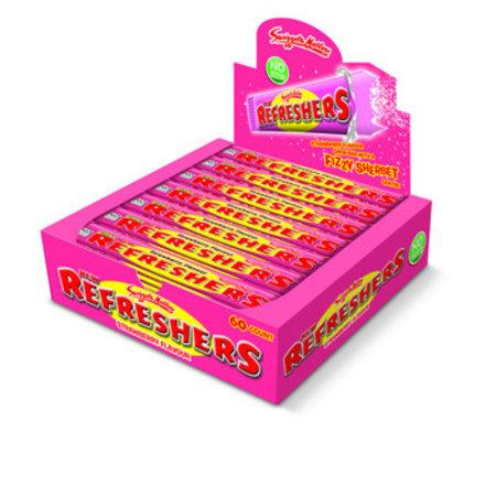 Swizzels Swizzels - refresher strawberry - 60 stuks