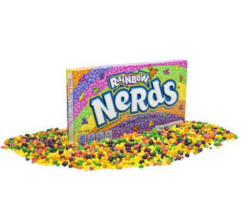 Wonka Wonka - Rainbow Nerds Box, 12 Stuks