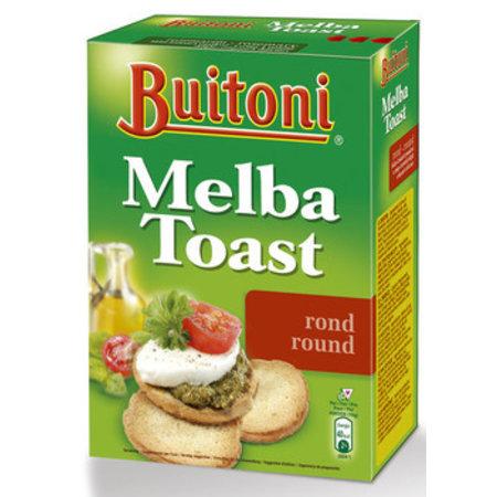 Buitoni Buitoni - melba toast 100gr rond 24-pk - 24 pakken