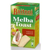 Buitoni - melba toast 100gr naturel 1pk - 1 pakken