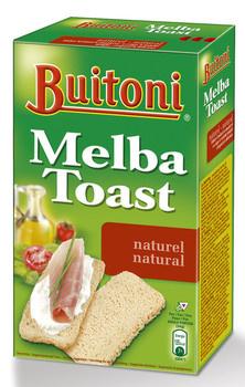 Buitoni Buitoni - melba toast 100gr naturel 1pk - 1 pakken