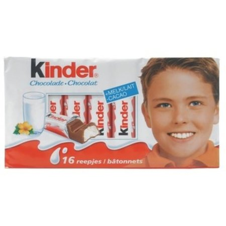 Kinder Kinder - chocolade t16 - 10 stuks