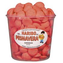 Haribo - schuim aardbeien - 150 stuks