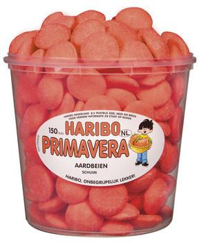 Haribo Haribo - schuim aardbeien - 150 stuks