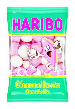 Haribo Haribo - cv chamallows cocoballs 175g - 12 zakken