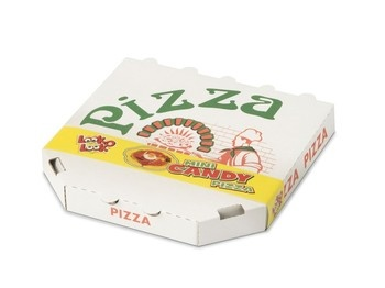 Look o Look Look o Look - mini candy pizza 85g - 10 stuks