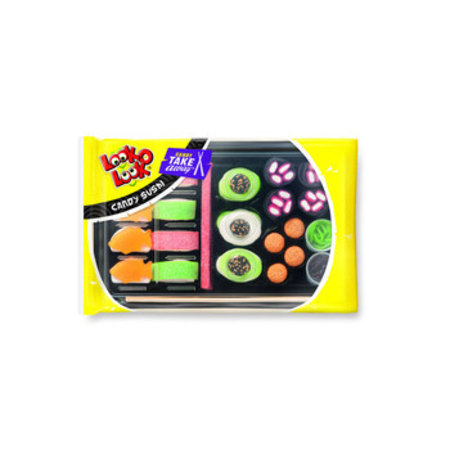 Look o Look Look O Look - Candy Sushi 300G, 12 Pack