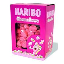 Haribo - chamallows aardbeienbollen - 150 stuks