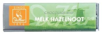 De Heer De Heer - Reep 75 Gram Melk Noot, 24 Repen