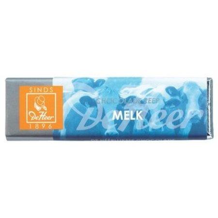 De Heer De Heer - 75 gram melk - 24 repen