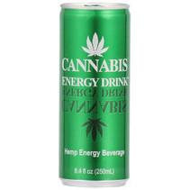 Cannabis - energy 25cl blik - 24 blikken