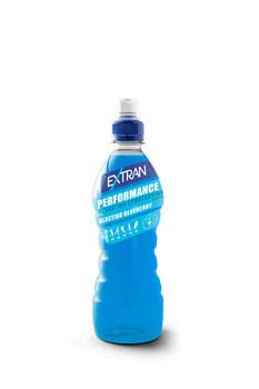 Extran Extran - performance blueberry 50cl pet - 12 flessen