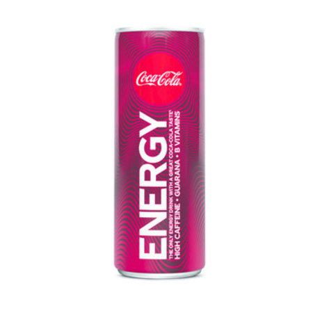 Coca Cola Coca Cola - energy 250ml - 12 blikjes