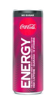 Coca Cola Coca Cola - energy zero 250ml - 12 blikjes