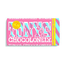 Tony's Chocolonely - melk shortbread karamel 180 gram - 15 repen