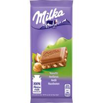 Milka - gebroken noot 45 gram - 32 repen