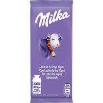 Milka - Alpenmelk 45 gram - 32 repen