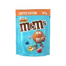 M&M's - salted caramel 187 gram - 12 zakken