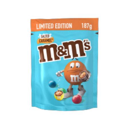 M&M's M&M's - salted caramel 187 gram - 12 zakken