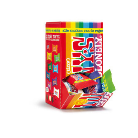 Tony's Chocolonely Tony's Chocolonely - mix 200 gram - 6 dozen