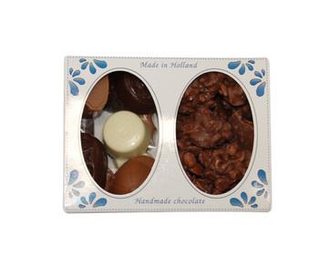 Tresor Tresor - delftsblauw bonbons/chocolade 425 gram - 4 dozen