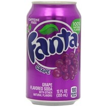 Fanta - grape 355ml blik - 12 blikken