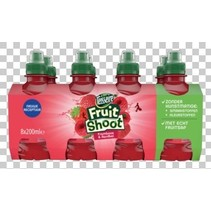 Teisseire - FRUIT SHOOT AARD/FRAM.8PK 20CL, 3 8 pack
