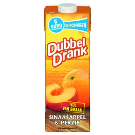 Dubbel Drank Dubbel Drank - DUBB DR SINAAS/PERZIK 1LT PAK, 8 pack
