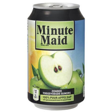 Minute Maid Minute Maid - MINUTE MAID APPEL 33CL BLIK, 24 blikken