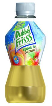 Dubbel Friss Dubbel Friss - DUBB FR APPEL&PERZ 27,5CL PET, 24 flessen