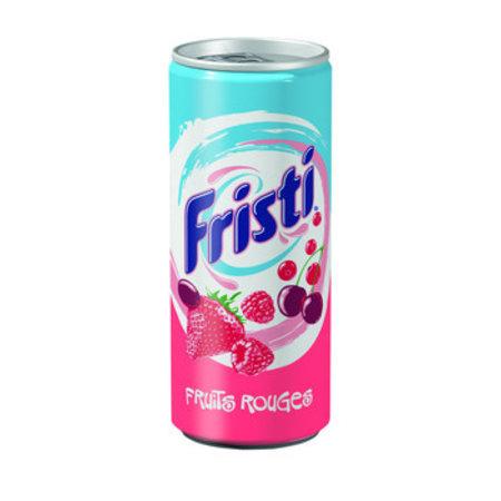 Fristi Fristi - FRISTI RODE VRUCHTEN 25CL BLIK, 24 blikken