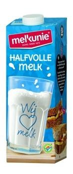 Melkunie Melkunie - MELKUNIE VOLLE MELK UHT 1LT, 12 pack