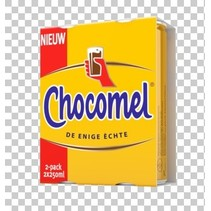 Chocomel - CHOCOMEL VOL 2-PK 25CL BLIK, 12 2 pack