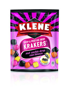 Klene Klene - KLENE KRAKERS DROP & FRUIT, 10 zakken