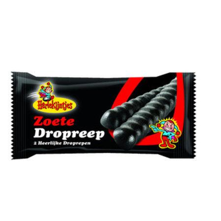 Harlekijndrop Harlekijndrop - Harlekijntjes Dropreep 66G, 30 Repen