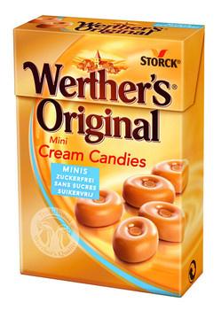 Werthers Werthers - Werthers Original Minis Sv, 10 Dozen