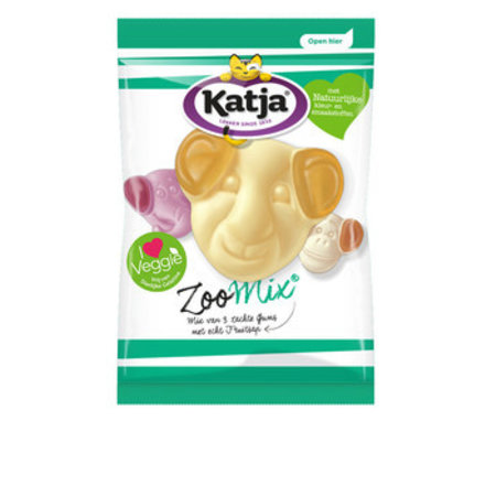Katja Katja - Vv Zoo Mix 300G, 12 Zakken