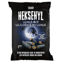 Heksehyl - Salmiak 300G, 16 Zakken