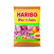 Haribo - Cv Fg Perziken 250G, 10 Zakken