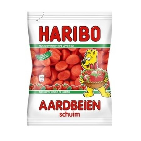 Haribo Haribo - Cv Schuim Aardbeien 200G, 9 Zakken