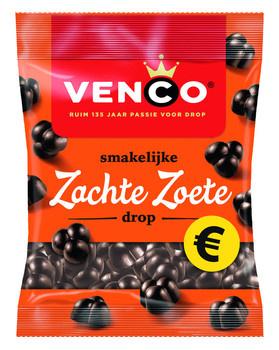 Venco Venco - Venco Zachte Zoete Drop 200G, 12 Zakken