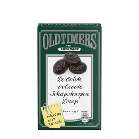 Oldtimers Oldtimers - Oldt.Scheepsknopendrop 235G, 6 Dozen